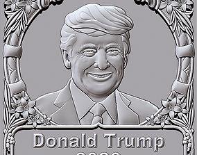 3D printable model Donald Trump 2020