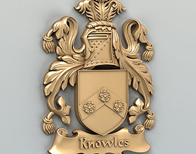 3D printable model Coat of arms decorative 003