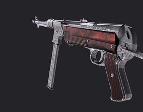 3D model Game ready MP40