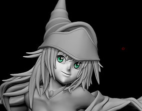 Dark Magician Girl - Yugioh for 3D printing knight