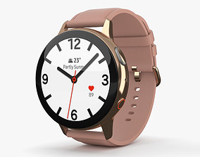 3D model Samsung Galaxy Watch Active 2 44mm Stainless 1