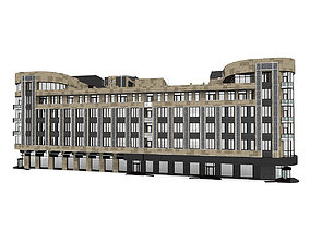 Residential City Building House 3D model