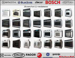 3D 30 Wall Ovens from 11 manufacturers
