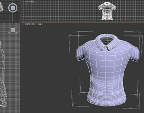 3D model shirt body