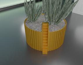 succulent plant pot 29 3D printable model