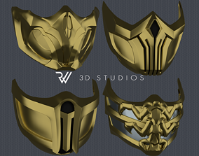 3D print model MK11 Scorpion Mask - Pack 01 - STL Files