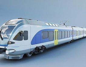 3D model Stadler FLIRT 415 train