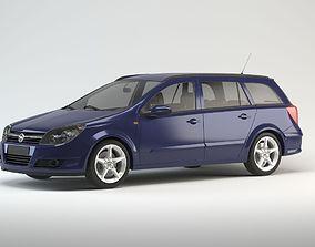 3D Opel Astra Caravan model 2008