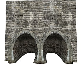 3D model Gatehouse 01 Stone Vault 02