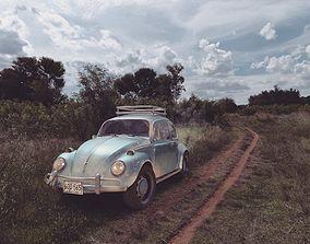 Volkswagen Beetle - Made in Blender 3D
