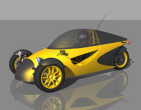 3D Personal Electric Vehicle