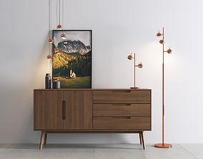 Austin Floor Lamp 3D