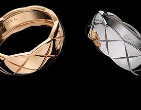 ring 3d models download 3D print model silver