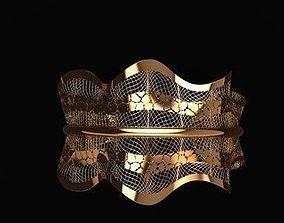 3D printable model bracelet fusion