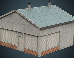 3D model Building 1B