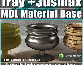 Iray piu in 3dsmax 2016 MDL Material Base Vol 2 Cd