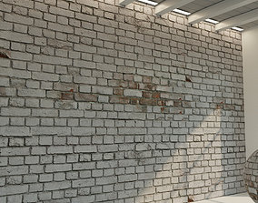 Brick wall Old brick 49 3D model