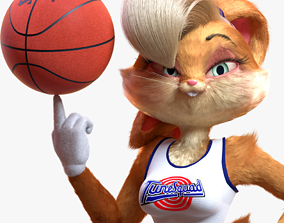 Lola Bunny Rigged 3D asset