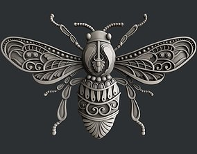 3d STL models for CNC router bee