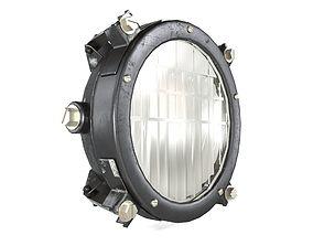 3d model tank headlight