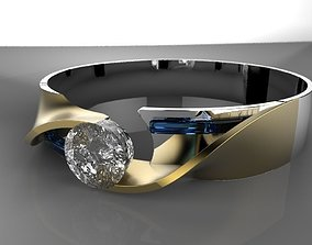 Diamond Ring 3D print model