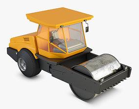 steamroller 3D Road Roller