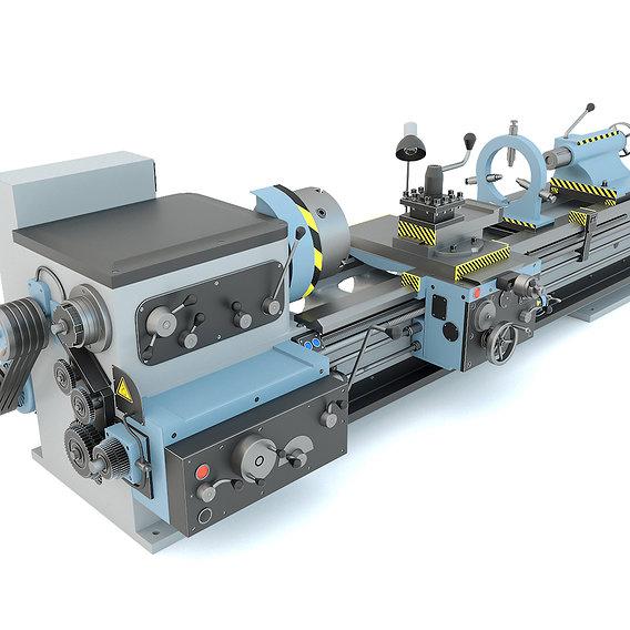 Industrial turning machine tool 1M63