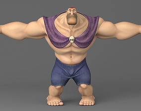 3D model Cartoon giant