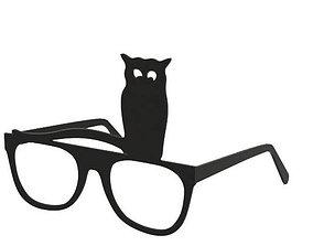Glasses 3D print model