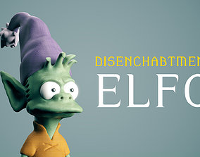 Disenchantment ELFO 3D printable model