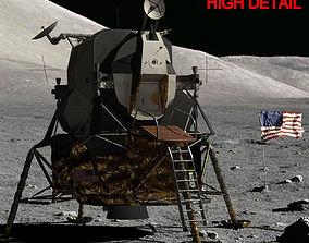 3D LUNAR LANDER APOLLO 11 MISSION NASA