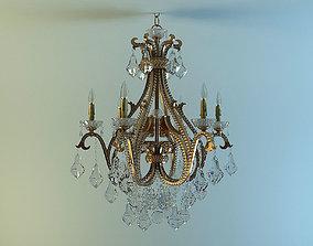 SHASTA 1 3301 6 132 chandelier 3D model