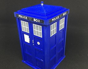 3D print model Dr Who TARDIS Storage Box