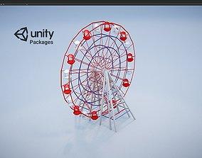 Carousel Ferris wheel Unity Package 3D asset