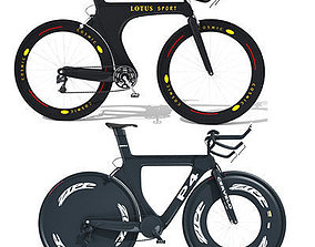 2 Sport Bicycles 3D