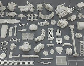 3D model Kit bash - 53 pieces - collection-13