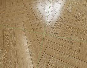 3D model 8 floors patterns of parquet