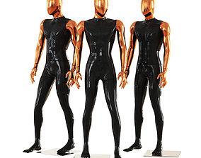 Faceless male mannequins 42 3D