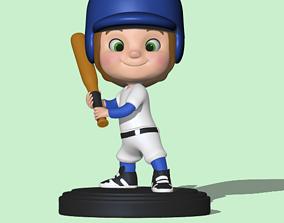 Sport Collection - Baseball 3D print model