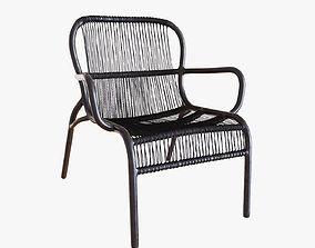 seat Vincent Sheppard Loop Lounge Chair 3D model