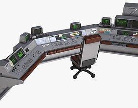 Control Desk 4 3D model