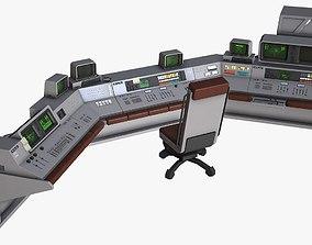 3D model Control Desk 4