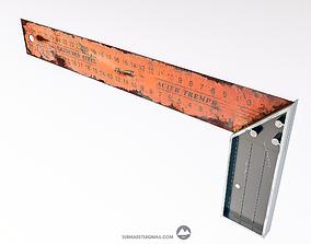 Elbow building 3d model low-poly