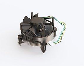 3D model Intel cooler