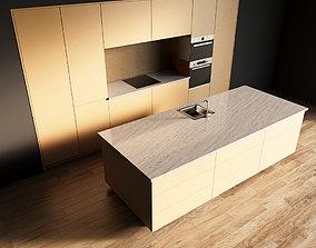 3D model 42-Kitchen6 matte 4