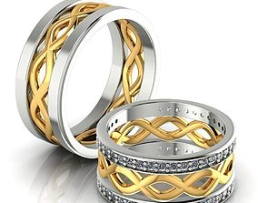 Infinity Twisted Ring 3D printable model