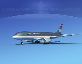 Boeing 787-8 US Airways 3D