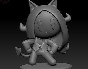 3D printable model Helltaker Cerberus