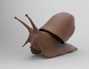 3D print model Snail mollusk