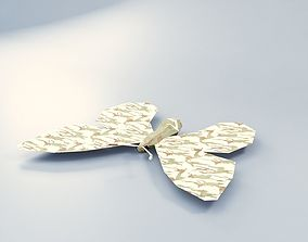3D asset Abstract LowPoly PBR ButterFly